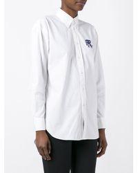Polo Ralph Lauren - White Logo Print Shirt - Lyst