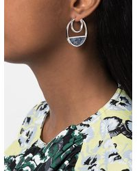 Monica Sordo - Gray Callao Baby Loops Earrings - Lyst