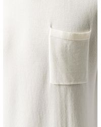 Mauro Grifoni - White Crew Neck T-shirt for Men - Lyst