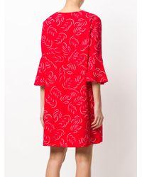 Essentiel Antwerp - Red Printed Dress - Lyst