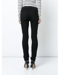 Veronica Beard - Black Brooke Skinny Jeans - Lyst