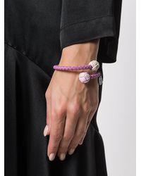 Bottega Veneta - Pink Intrecciato Bracelet - Lyst