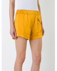 Manning Cartell - Yellow Front Pocket Shorts - Lyst