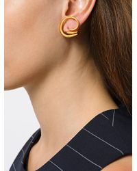 Charlotte Chesnais - Metallic Round Trip Earrings - Lyst
