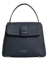 Burberry - Blue Camberley Tote - Lyst