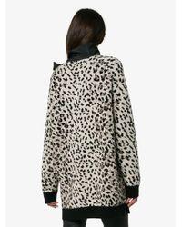 Valentino - Multicolor Cashmere Leopard Bow Jumper - Lyst