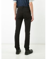 Attachment - Black Skinny Trousers for Men - Lyst