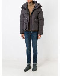 Canada Goose - Gray 'Selkirik' Parka Coat for Men - Lyst