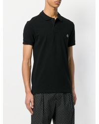 PS by Paul Smith - Black Short Sleeve Polo Shirt for Men - Lyst