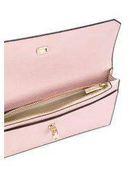 Valextra - Pink Removable Cardholder Wallet - Lyst