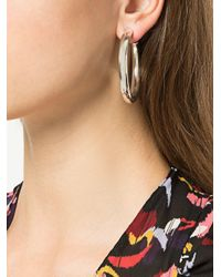 Meadowlark - Metallic Large Taboo Hoop Earrings - Lyst