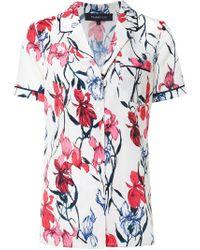 Thakoon | Pink Floral Print Pyjama Top | Lyst
