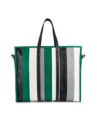 Balenciaga - Green Bazar Shopper L for Men - Lyst