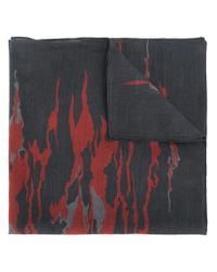 DIESEL - Black Abstract-print Bandana for Men - Lyst