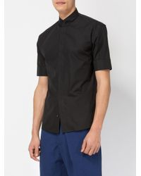 Haider Ackermann - Black Short-sleeve Shirt for Men - Lyst