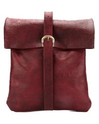 Olubiyi Thomas - Red Large Satchel Backpack for Men - Lyst