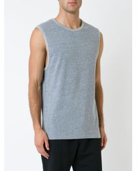 The Upside - Gray Naps Wicking Muscle T-shirt for Men - Lyst