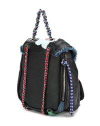 DIESEL - Black B-oom Backpack - Lyst
