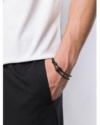 Alexander McQueen Black Skull Bracelet for men