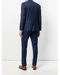 BOSS - Blue Two Piece Formal Suit for Men - Lyst