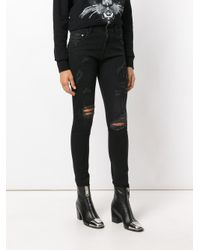 Marcelo Burlon - Black Katt Skinny Fit Jeans - Lyst