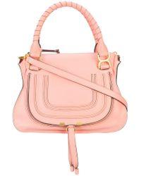 Chloé - Pink Marcie Medium Tote - Lyst