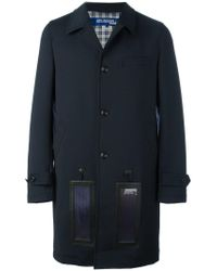 Junya Watanabe Solar Panelled Charging Coat in Blue for Men - Lyst 7f84db726cad