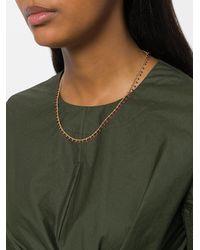 Isabel Marant - Metallic Resin Droplet Necklace - Lyst