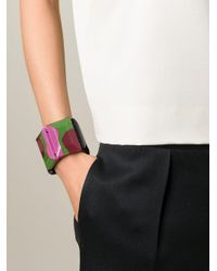 Marni - Black Elasticated Detail Cuff - Lyst