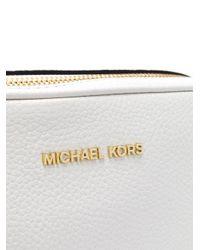 MICHAEL Michael Kors - White Ginny Crossbody Bag - Lyst