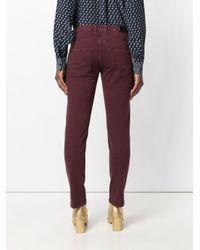 Jacob Cohen - Purple Slim-fit Jeans - Lyst