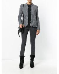 IRO - Gray Coffey Jacket - Lyst