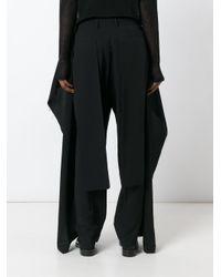 Moohong - Black Wide Leg Trousers - Lyst