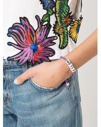 Venessa Arizaga - Multicolor 'wtf' Bracelet - Lyst