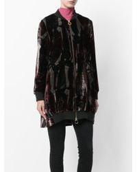 L'Autre Chose | Black Zipped Coat | Lyst