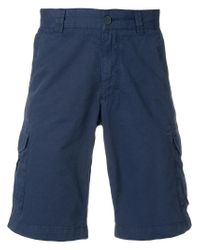 Woolrich - Blue Chino Shorts for Men - Lyst
