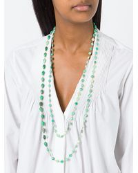 Rosantica - Green Beaded Necklace - Lyst