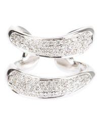 Gavello - Metallic Diamond Ring - Lyst