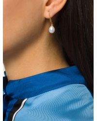 Wouters & Hendrix - Metallic Curiosities Pearl Earrings - Lyst