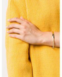 Eddie Borgo - Metallic Elasticated Cuff Bracelet - Lyst