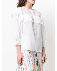 Vilshenko - White Clarisa Shirt - Lyst