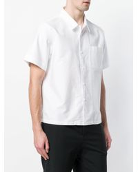 Bellerose - White Short Sleeved Shirt for Men - Lyst