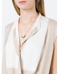Maria Black - Metallic 'wing' Necklace - Lyst