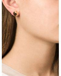 Lara Bohinc - Metallic 'eye' Stud Earrings - Lyst