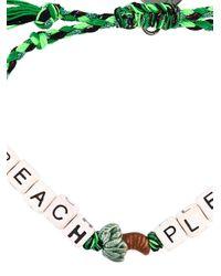 Venessa Arizaga - Green 'beach Please' Bracelet - Lyst
