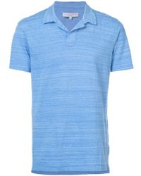 Orlebar Brown - Blue Felix Polo Shirt for Men - Lyst