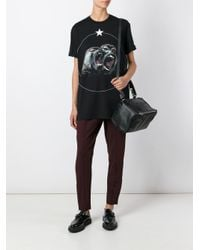 Givenchy - Black Monkey Brothers T-shirt for Men - Lyst