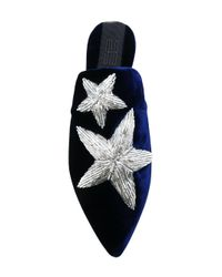Sanayi 313 - Blue Pointed Star Slippers - Lyst