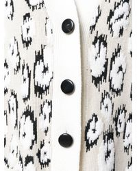 Proenza Schouler - Multicolor Long Sleeve Cardigan - Lyst