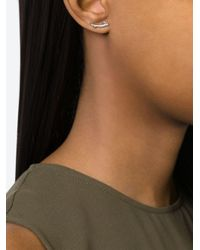 Shaun Leane   Metallic 'cherry Branch' Diamond Earrings   Lyst